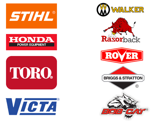 some of the product outdoor power equipment brands that we support